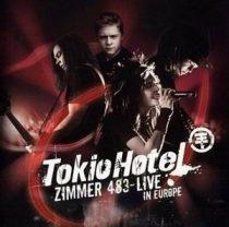 TOKIO HOTEL - Zimmer 483 Live In Europe CD