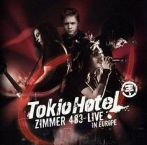 TOKIO HOTEL - Zimmer 483 Live In Europe CD