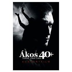 ÁKOS - 40+ Turné 2008-2009 DVD