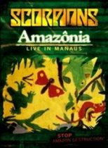 SCORPIONS - Amazonia Live In The Jungle DVD