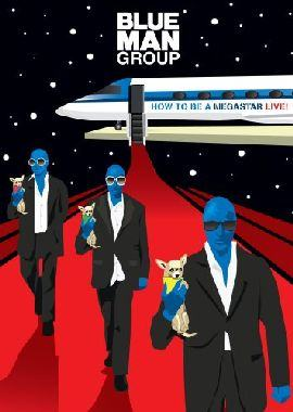 BLUE MAN GROUP - How To Be A Megastar Live /dvd+cd/ DVD