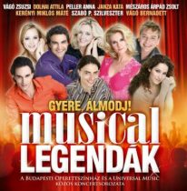 MUSICAL ROCKOPERA - Gyere Álmodj Musical Legendák CD
