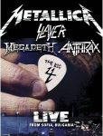 METALLICA SLAYER MEGADETH ANTHRAX - The Big 4 Live From Sonisphere Festival Sofia Bulgaria /2dvd/ DVD