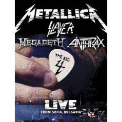 METALLICA SLAYER MEGADETH ANTHRAX - The Big 4 Live From Sonisphere Festival Sofia Bulgaria /2dvd/ DVD