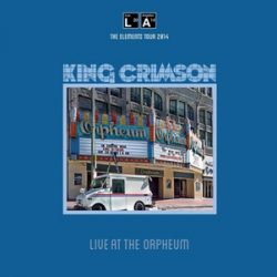 KING CRIMSON - Live At The Orpheum / vinyl bakelit / LP
