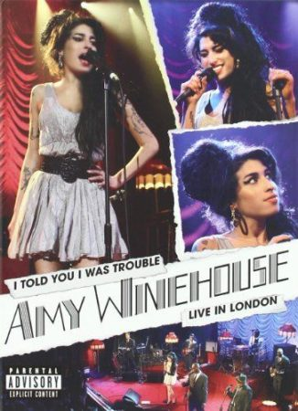 AMY WINEHOUSE - I Told You I Was Trouble Live In London DVD