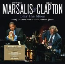 ERIC CLAPTON AND WYNTON MARSALIS - Play The Blues Live From Jazz At Lincoln Center /cd+dvd/ CD