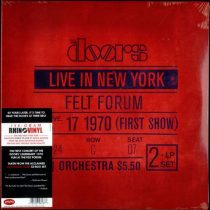 DOORS - Live In New York / vinyl bakelit / 2xLP