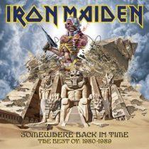 IRON MAIDEN - Somewhere Back In Time / vinyl bakelit / 2xLP