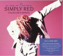 SIMPLY RED - A New Flame / cd+dvd deluxe / CD