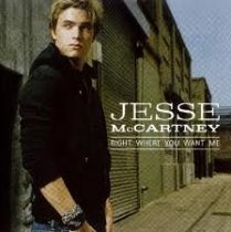JESSE MCCARTNEY - Right Where You Want CD