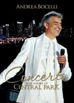 ANDREA BOCELLI - Concerto One Night In Central Park DVD