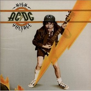 AC/DC - High Voltage / vinyl bakelit / LP