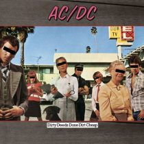 AC/DC - Dirty Deeds Done Dirt Cheap / vinyl bakelit / LP