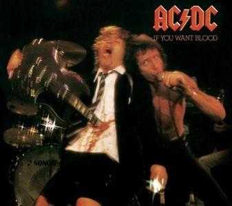 AC/DC - If You Want Blood You've got it / vinyl bakelit / LP