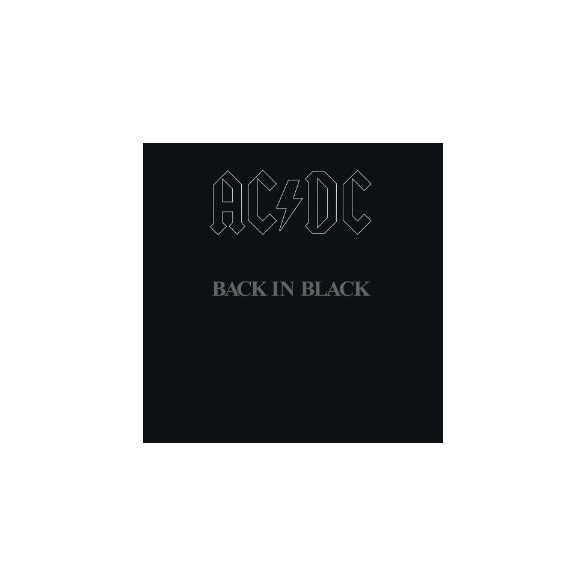 AC/DC - Back In Black / vinyl bakelit / LP