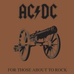 AC/DC - For Those About To Rock / vinyl bakelit / LP