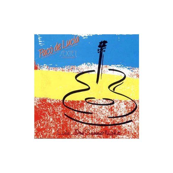 PACO DE LUCIA - One Summer Night CD