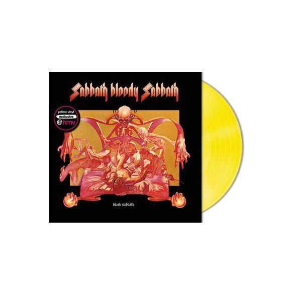 BLACK SABBATH - Sabbath Bloody Sabbath / limitált színes vinyl bakelit / LP
