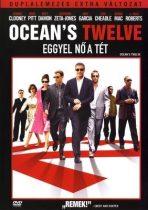 FILM - Oceans Twelve Eggyel Nő A Tét DVD