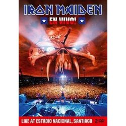 IRON MAIDEN - En Vivo / steel box / DVD
