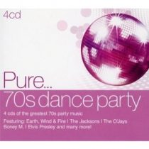 VÁLOGATÁS - Pure…70's Dance Party / 4cd / CD
