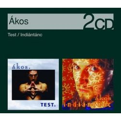 ÁKOS - 2in1 Test + Indiántánc /2cd ecopack/ CD
