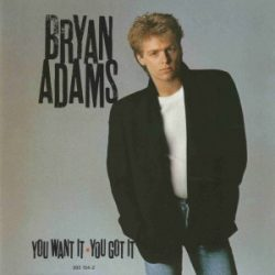 BRYAN ADAMS - You Want It You Got It CD