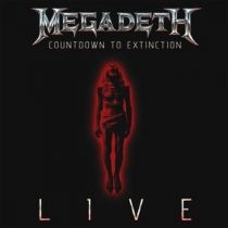 MEGADETH - Countdown To Extincion Live CD