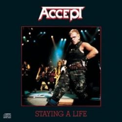 ACCEPT - Staying A Life / 2cd / CD