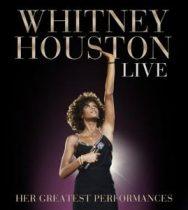 WHITNEY HOUSTON - Live Her Greatest Live Performances /cd+dvd/ CD