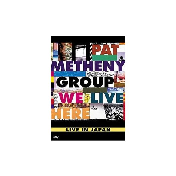 PAT METHENY - We Live Here DVD
