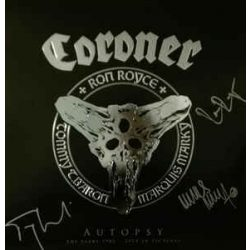 CORONER - Autospy / vinyl bakelit + 3brd / LP