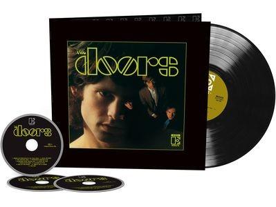 DOORS - Doors 50th Anniversary / mono vinyl bakelit +3cd / LP