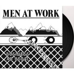 MEN AT WORK - Business As Usual / vinyl bakelit / LP