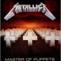 METALLICA - Master Of Puppets / remastered vinyl bakelit / LP
