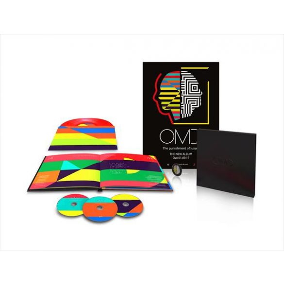 OMD - Punisment Of Luxury / vinyl bakelit box / LP