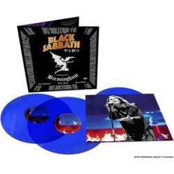 BLACK SABBATH - End  /színes vinyl bakelit / 3xLP