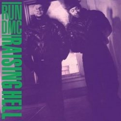 RUN DMC - Raising Hell / vinyl bakelit / LP