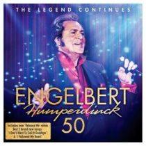 ENGELBERT HUMPERDINCK - 50 The Leged Continues CD