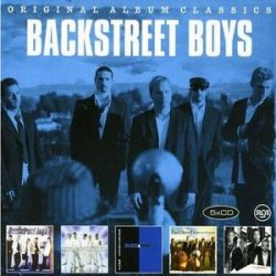 BACKSTREET BOYS - Original Albums / 5CD