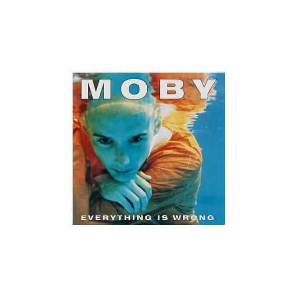 MOBY - Everything Is Wrong / vinyl bakelit / LP