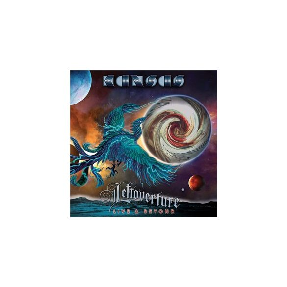 KANSAS - Leftoverture Live & Beyond / vinyl bakelit box / 4xLP