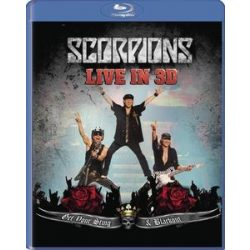 SCORPIONS - Live In 3D Get Your Sting And Blackout / blu-ray / BRD