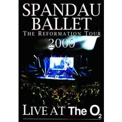 SPANDAU BALLET - Live At The O2 2009 DVD