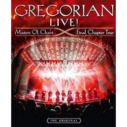 GREGORIAN  - Live Master Of Chant Final Chapter Tour / dvd+cd / DVD