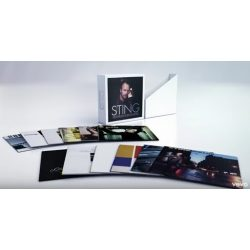 STING - Complete Studio Album Collection / vinyl bakelit box / 16xLP