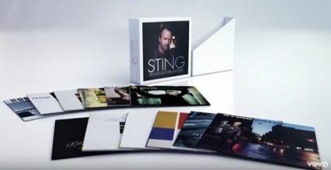 STING - Studio Album Collection / vinyl bakelit box / 11xLP