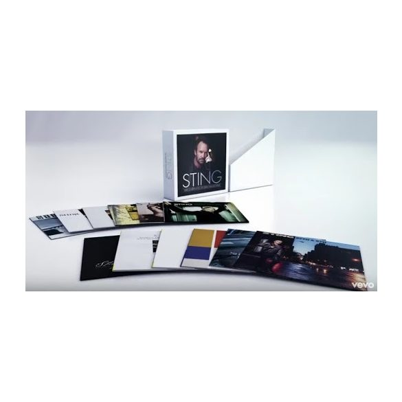 STING - Studio Album Collection / vinyl bakelit box / 11xLP