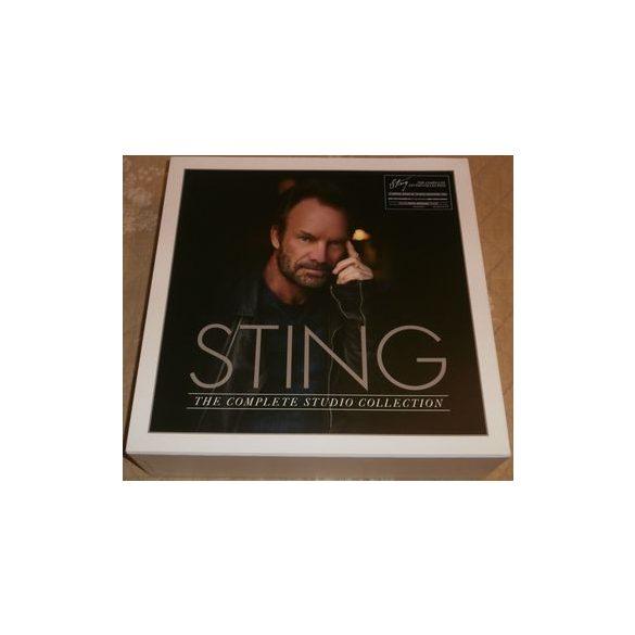 STING - Complete Studio Album Collection / vinyl bakelit box / 16xLP